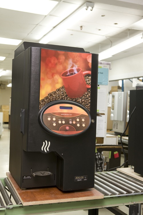 Refurbishing  | Cafection Coffee Machine | Quebec